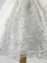 Load image into Gallery viewer, Kali - Organza Flower Ivory Dress