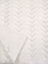 Load image into Gallery viewer, Opehlia - Ivory Christening Shawl