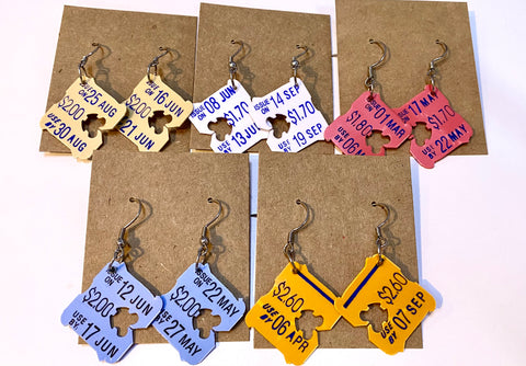 Bread Tag Earrings Free Gift Singapore