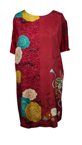Uwagi Japanese tunic silk dress