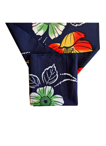Jai Navy Yukata Fabric