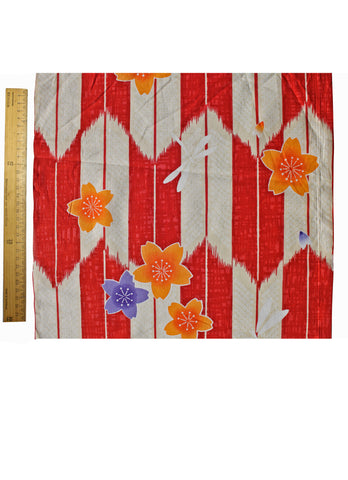 Tulips Yukata Fabric