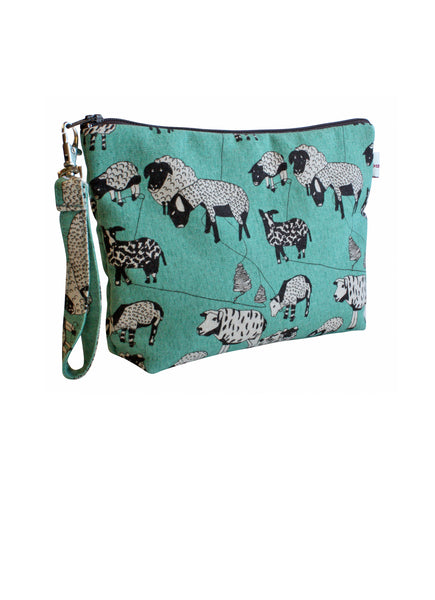 Sheepish Zip Up Purse
