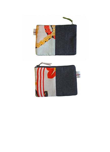 Minimals Denim Coin Purse