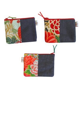 Trad Varieties Denim Coin Purse
