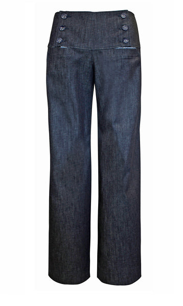 Fitto Blue Denim Pants