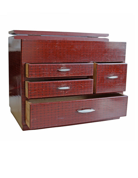 Japanese Jewellery Box with Drawers