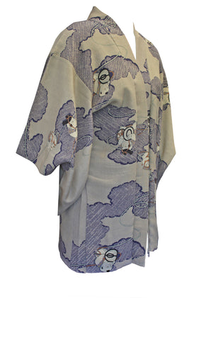 Clouds Haori Jacket