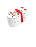 Maneki Neko Doll Lunch Box