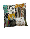 Yellow Navy Cotton Cushion Cover