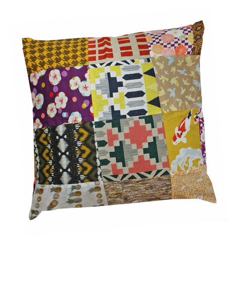 Yellows Cotton Cushion Cover
