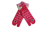 Pink Fish Super Fun Socks