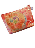 Coral Flower Toiletries Bag