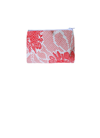 Shibori Print Puff Purse