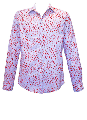 Lanterns Print Men's Shirt