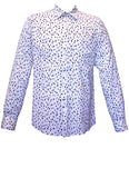 Grey Black Spotted Men's Shirt