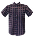 Short Sleeve Woven Men's Shirt