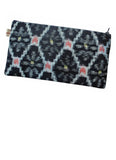 Blue Ikat Pouch Purse