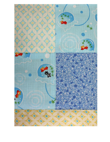 Blues Padded Baby Play Mat
