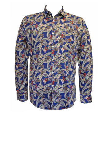 Grande Paisley Men's Pocket Shirt