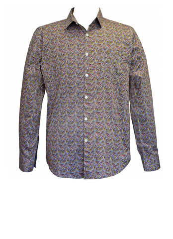 Mini Paisley Men's Pocket Shirt