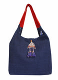 Teori Navy Shoulder Bag