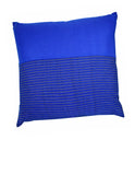 Woven Klein Blue Cushion Cover