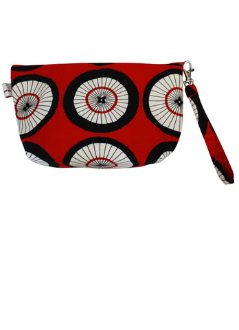 Wagasa Zip Up Purse - Round