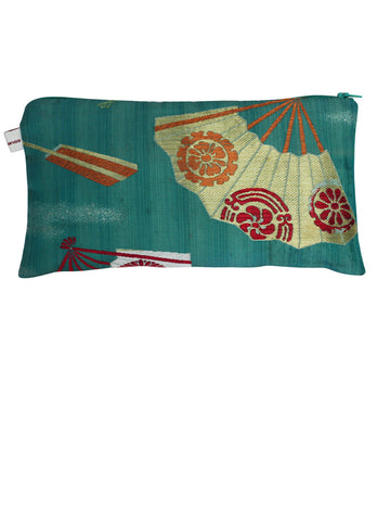 Green Obi Pouch Purse