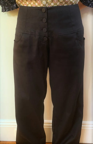 Full Length Black Pants P093