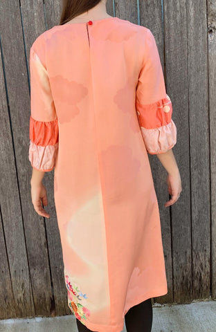 Double Puff Pinku Dress