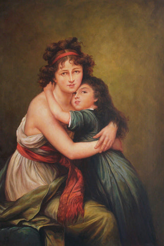 Mother and Daughter - GJ0794 (60x90 cm)