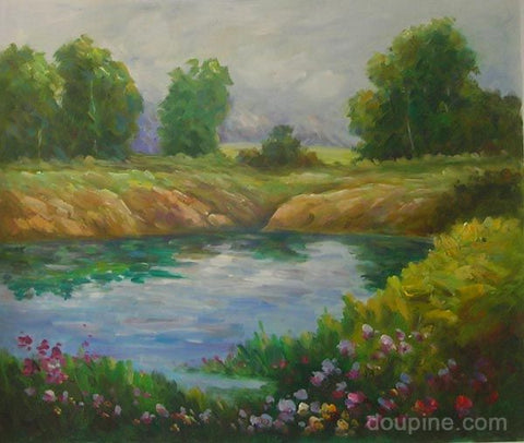 Flowers and Water - HS2188 (60x90 cm)