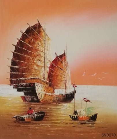 Sailing Boats in Asia - HS3695