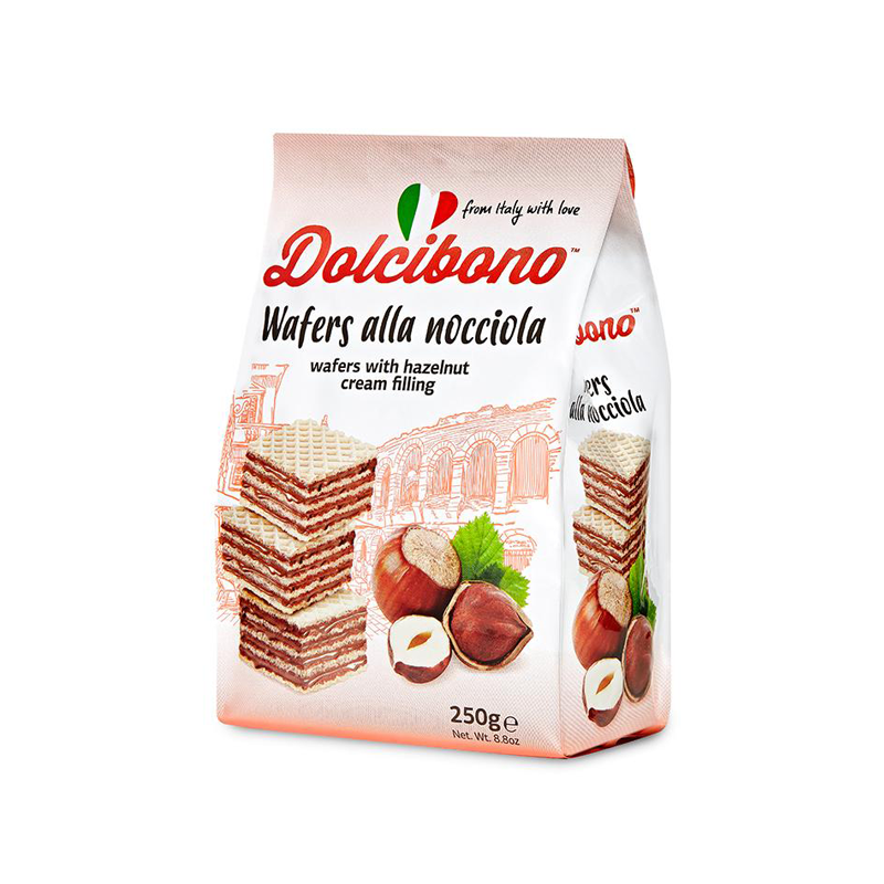 Dolcibono Wafers With Hazelnut Cream Filling - 8.8oz (250g)