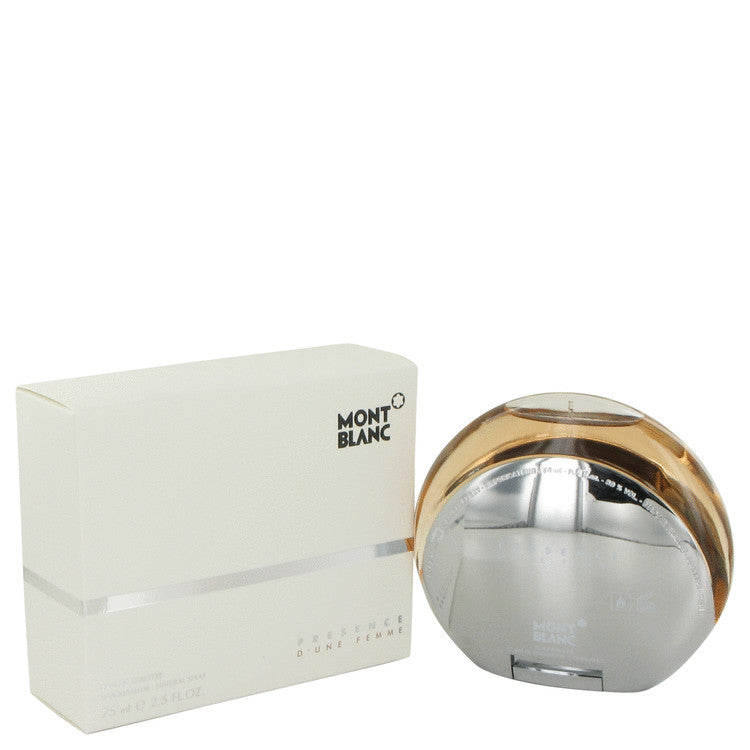 MONT BLANC PRESENCE - EDT SPRAY**2.5 oz