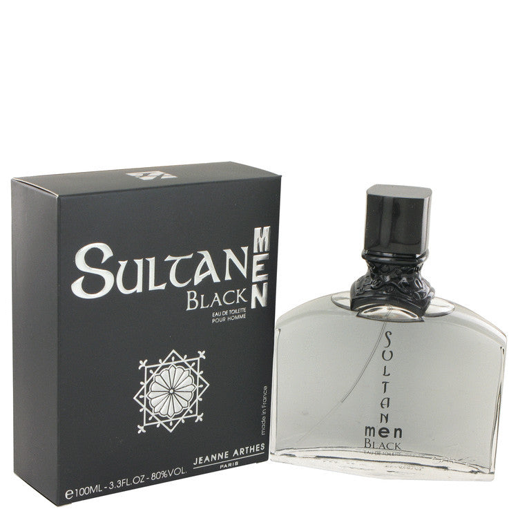 J.ARTHES SULTAN MAN BLACK EDT SPRAY 3.4 oz