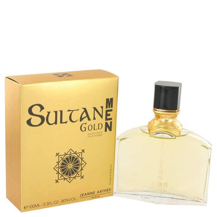 J.ARTHES SULTAN MEN GOLD EDTSPRAY 3.4 oz