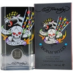 BORN WILD FOR MEN by ED HARDY- EDT SPRAY 3.4 oz