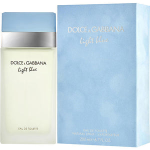 D & G LIGHT BLUE by Dolce & Gabbana EDT SPRAY 6.7 OZ