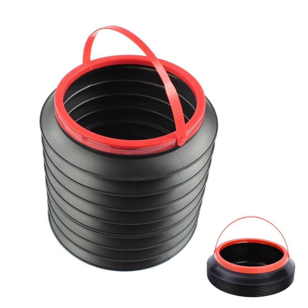 0237 -4L Foldable Car Trash Can Storage Organiser - Bulkysellers.com
