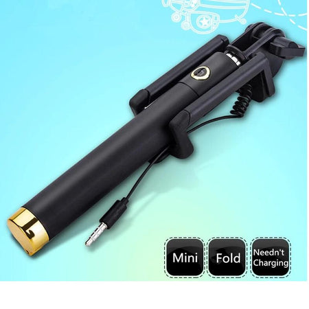 0271 Wireless/Bluetooth Selfie Stick - DeoDap