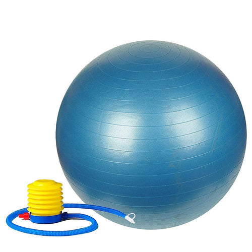 0580 Anti-Burst Gym Ball with Pump (75 cm) - Bulkysellers.com