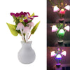 0217 LED Dream Night Light, Auto ON/Off Sensor Mushroom Lamp (Multicolor) - DeoDap