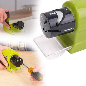 0135 Cordless Motorized Knife Blade Sharpener Tool - DeoDap