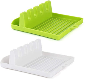 2121 Multi-Functional Spatula Holder/Rest for Kitchen Utensils