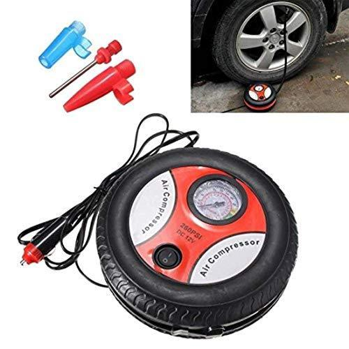 0504 Electric DC12V Tire Inflator Compressor Pump - DeoDap