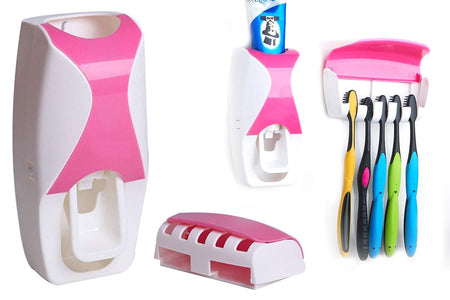 0200 Toothpaste Dispenser & Tooth Brush with Toothbrush - Bulkysellers.com