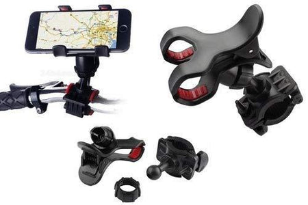 0284 Universal Bike & Bicycle Mobile Mount Holder - DeoDap