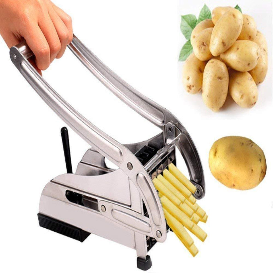 083 Stainless Steel French Fries Potato Chips Strip Cutter Machine - Bulkysellers.com